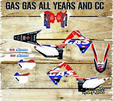 Gas gas ec 125 250 450 98-2016 Kit De Gráficos Pegatinas Kit y plásticos