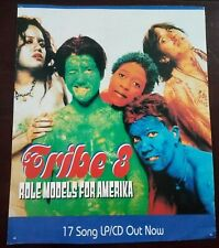 """Tribe 8 Role Models For America Lp / Cd Poster 11"""" x 13.25"""""""