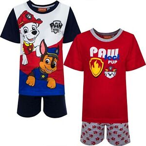 Paw Patrol Kurz Schlafanzug für Junge Kinder Schlafanzug Pyjama