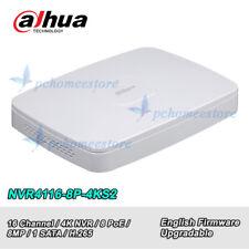 Dahua NVR4116-8P-4KS2 8 Channel Smart 8PoE 4K&H.265 Lite Network Video Recorder