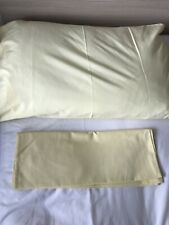 Pair Of Yellow Pillowcases Used VGC