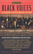 Black Voices : An Anthology of African-American Literature by Malcolm X and...