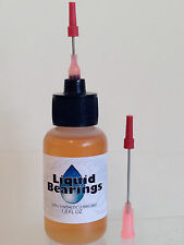 Liquid Bearings, ABSOLUTE BEST 100%-synthetic HO slot car oil, PLEASE READ !!