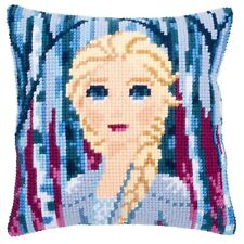 Vervaco Cross Stitch Cushion Kit: Disney - Frozen 2: Elsa