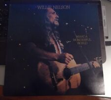 WILLIE NELSON - WHAT A WONDERFUL WORLD - VINILE STAMPA OLANDESE NUOVO 1988