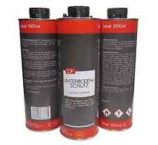 Unterbodenschutz Wachs 12x 1l 1 Liter Unterbodenwachs schwarz UBS Wax dunkel