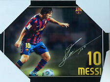 Lionel Messi Soccer Autographed  Picture Frame Ready to Hang 33cm x 24cm -NEW '