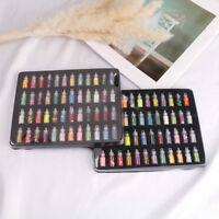 48Pcs Glitter filler giocattoli box morbidi per bambini kit accessori fai da te