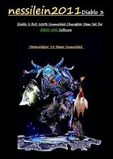 Diablo 3 RoS Xbox One - Hexendoktor/Witchdoctor - UNMODDED- 13 Items - Qual 8/9
