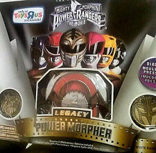 MIGHTY MORPHIN POWER RANGERS Movie_LEGACY POWER MORPHER_White Ranger Edition_MIB