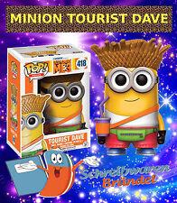 Funko Pop Vinyl Figur - Minion Tourist DAVE Funko Pop Figur - Serie 418 - MINION