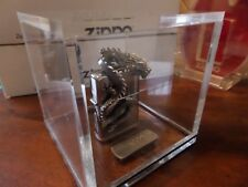 Zippo Lighter Polished Chrome Chinese Dragon Limited 2500 New in Perspex Display