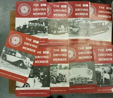 The Driving Member, Daimler & Lanchester Club Magazine. 9 issues Vol 16, 1979-80