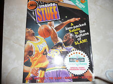 NBA INSIDE STUFF MAGAZINE COMPLETE WITH NBA CARDS STILL INSIDE