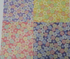 60sheets Double Sided Origami  Paper Sakura D  4 Patterens From Japan