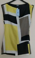 Oasis Ladies 100% Silk Blouse Top UK Size 10 Brand New With Tags RRP: £50