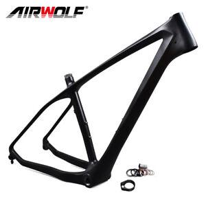 """26er Carbon Fat Bike Frame Snow Bicycle Frameset 16""""/18""""/20"""" BSA fit 5"""" tire"""