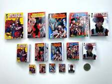 More details for miniature manga book set | 5 books | dolls house books | 1/12, 1/6 or 1/4 scale