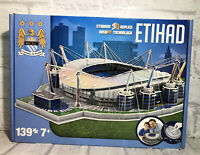 NEW ETHIAD STADIUM 3D Replica Jigsaw Puzzle Model 139pcs MCFC Football Official