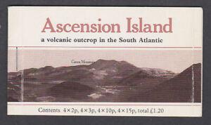 Ascension Island 1981 Mint MNH Booklet Definitives Flowers Atlantic Volcano SB3