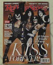 No Label ROLLING STONE April 10,2014 KISS GENE SIMMONS Paul Stanley TOM PETTY ++