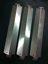 CHAR-GRILLER 5050 PN 95051 Stainless Steel Heat Plates (3) and brackets (6)