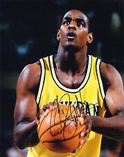 MICHIGAN FAB FIVE RP SIGNED 8X10 PHOTOS WEBBER, HOWARD, ROSE, KING, JACKSON