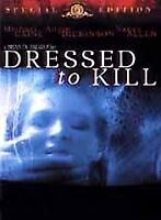 Dressed to Kill (DVD, 2001, Special Edition) New/Sealed
