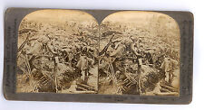 Keystone Stereoview Steroscopic Image -World War 1 Soldiers Inspect French Ruins