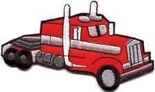 Transfer truck trucking trucker CB convoy retro applique iron-on patch new S-364