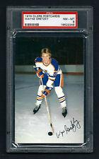 PSA 8 WAYNE GRETZKY 1979 Edmonton Oilers Postcard ROOKIE