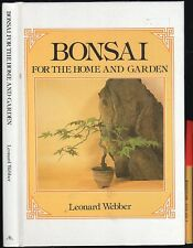BONSAI For the HOME & GARDEN 98pg Hardcover Handbook EC