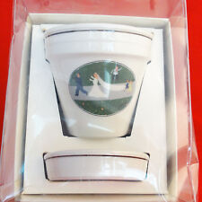 FLOWER POT NAIF DESIGN Villeroy & Boch NEW NEVER USED Wedding Procession