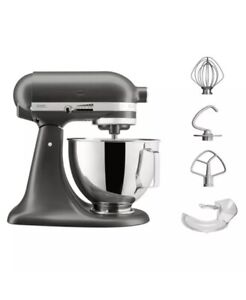 KitchenAid Stand Mixer 4.3L With Pouring Shield In Slate