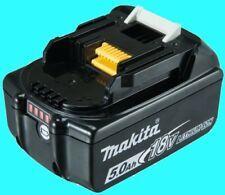 Makita Ersatz Akku 18 V 5,0 AH Li-Ion m. LED-Anzeige BL1850B NEU v. Fachhändler