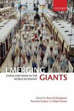 Emerging Giants : China and India in the World Economy (2010, Hardcover)
