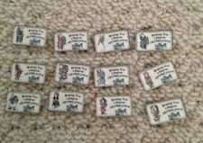 Vintage Christmas Table Confetti Decorations