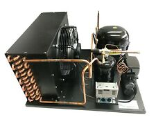 New Indoor Condensing Unit 15 Hp Low Temp R404a 220v Embraco Nt2212gkv2