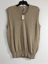 NWT Peter Millar Cotton-Cashmere V-Neck Sweater Vest Size Small (Retail $115)