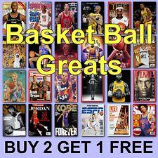 Basketball Posters Michael Jordan Poster Steph Curry Lebron James Kobe Bryant
