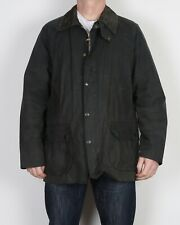 "BARBOUR Bedale Wax Jacket Coat UK 46"" XL XXL Navy Blue  (CCF)"