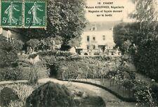 CHAGNY Maison AUDIFFRED Négociants Magasins et façade donnant sur le Jardin