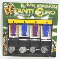 IL MILIONARIO, TANTI EURO, RIPRODUZIONE EURO, SPORTELLO CASSA CON EURO
