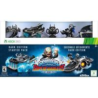 Skylanders Superchargers Dark Edition Starter Pack for Xbox 360 - Good condition