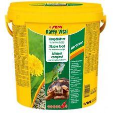 Sera Raffy Vital 10 LITRI 1,7 KG  Mangime per Rettili e Tartarughe di Terra