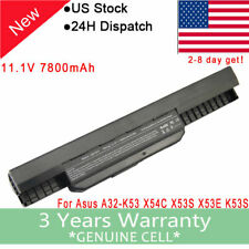 9Cells battery A32-K53 for ASUS A53E A53S A43S A54C K53SV X53U X54H notebook FC