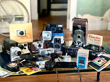 Vintage Camera Lot, Kodak, Agfa, Polaroid, Canon, Nikon, Bell & Howell, Untested