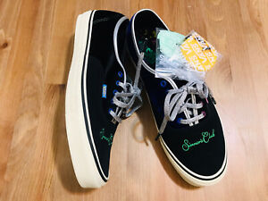 Vans Old Skool Sinners Club lace up suede/velvet athletic shoes NWOB size 13