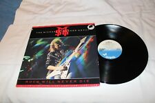 The Michael Schenker Group  LIVE Import  LP-ROCK WILL NEVER DIE