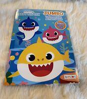 Baby Shark Pinkfong Jumbo Coloring Activity Book 4 ...